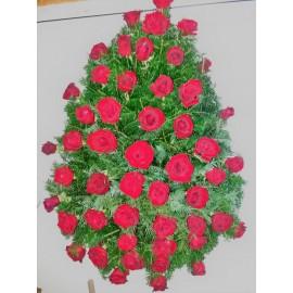Coroana 50 fire trandafiri