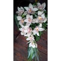 Buchet de mireasa orhidee