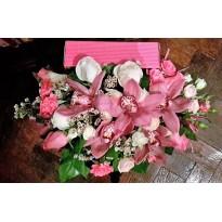 Cos  cu orhidee