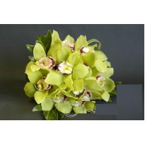 Buchet mireasa  din orhidee imperiala