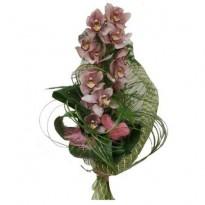 Buchet  orhidee si plante