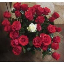 Buchet  din 31 fire trandafiri