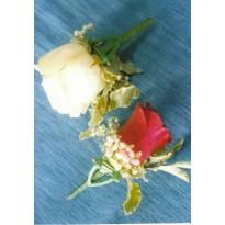 Cocarde naturale trandafir