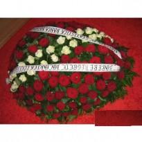 Coroana trandafiri 100 fire
