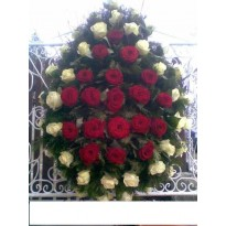 Coroana din trandafiri