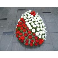 Coroana  150 fire flori naturale