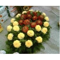 Coroana flori de toamna