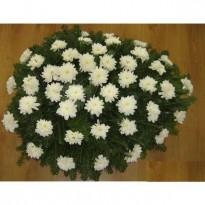 Coroana  din 50 de crizanteme