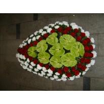 Coroana mare 120 fire flori