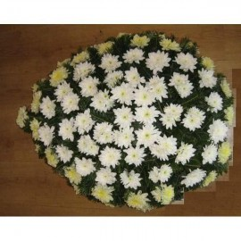 Coroana crizanteme naturale