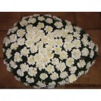 Coroana funerara 80 garoafe