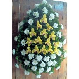 Coroana santini si orhidee