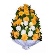 Jerba 24 gerbera si 8 trandafiri