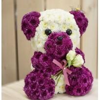 Urs din flori